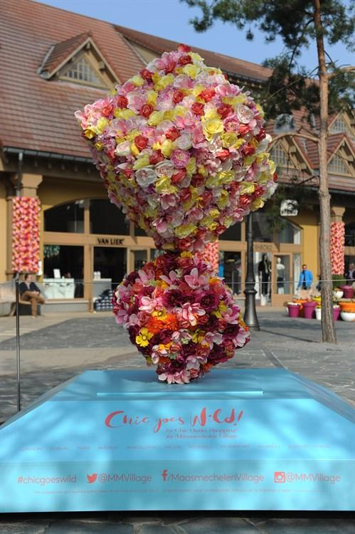 Flower Installation 4